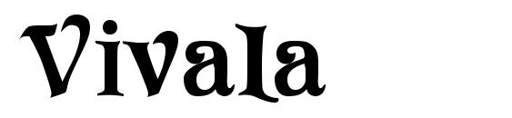 Vivala Font, Monogram Fonts