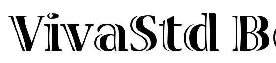 VivaStd Bold Font