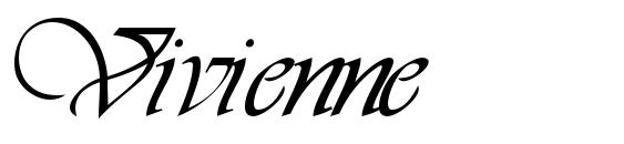 Vivienne Font, Handwriting Fonts