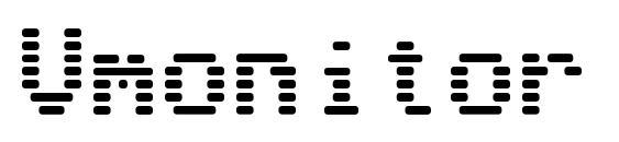 Vmonitor Font