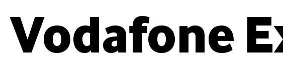 Vodafone ExtraBold Font