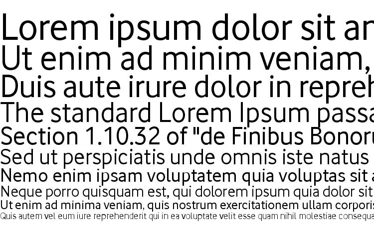 specimens Vodafone font, sample Vodafone font, an example of writing Vodafone font, review Vodafone font, preview Vodafone font, Vodafone font