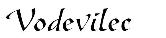 Vodevilec Font, Handwriting Fonts