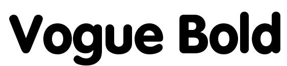 Vogue Bold Font