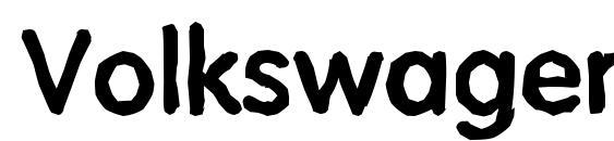 VolkswagenAntique Bold Font