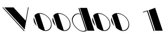 Voodoo 1 Font, Sans Serif Fonts