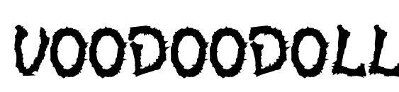 Voodoodollletters Font