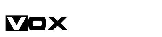 Vox Font, Sans Serif Fonts