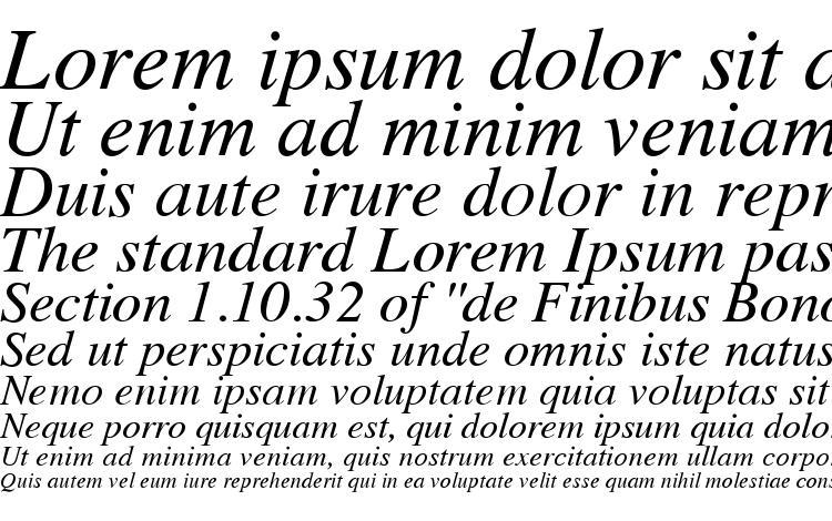 specimens Vremya Italic font, sample Vremya Italic font, an example of writing Vremya Italic font, review Vremya Italic font, preview Vremya Italic font, Vremya Italic font