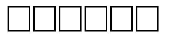 Vrfwfb Font