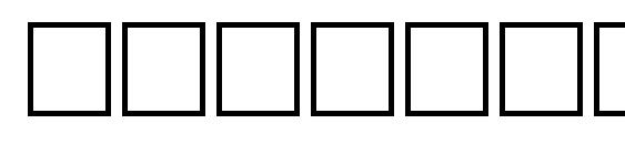 Vrfwfbi Font
