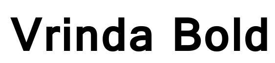 Vrinda Bold Font, Sans Serif Fonts