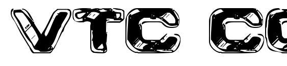 VTC CoppaKroma Font, Sans Serif Fonts