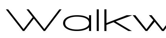 Walkway UltraExpand Bold Font, Sans Serif Fonts