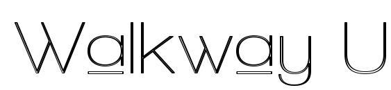 Walkway Upper Zebra Font, Sans Serif Fonts