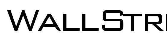 WallStreet Font