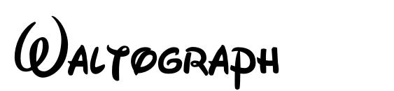 Waltograph Font, Pretty Fonts
