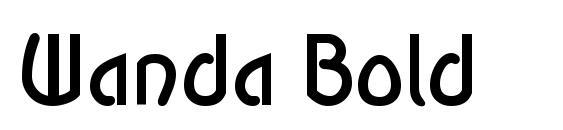 Wanda Bold Font, Monogram Fonts