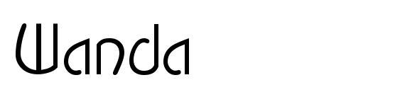Wanda Font, Monogram Fonts