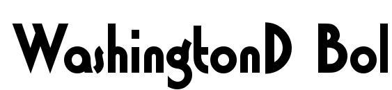 WashingtonD Bold Font