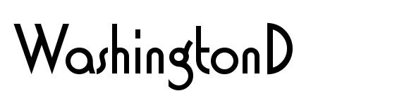 WashingtonD Font, Sans Serif Fonts