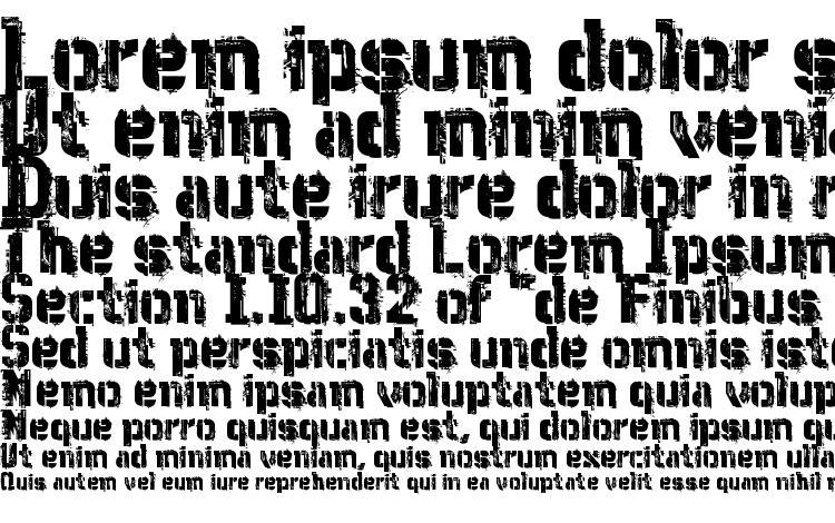 specimens WCWunderbachMixBta font, sample WCWunderbachMixBta font, an example of writing WCWunderbachMixBta font, review WCWunderbachMixBta font, preview WCWunderbachMixBta font, WCWunderbachMixBta font
