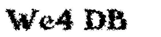 We4 DB Font