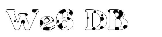 We6 DB Font