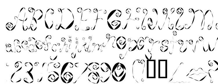 глифы шрифта Weeweecafe, символы шрифта Weeweecafe, символьная карта шрифта Weeweecafe, предварительный просмотр шрифта Weeweecafe, алфавит шрифта Weeweecafe, шрифт Weeweecafe