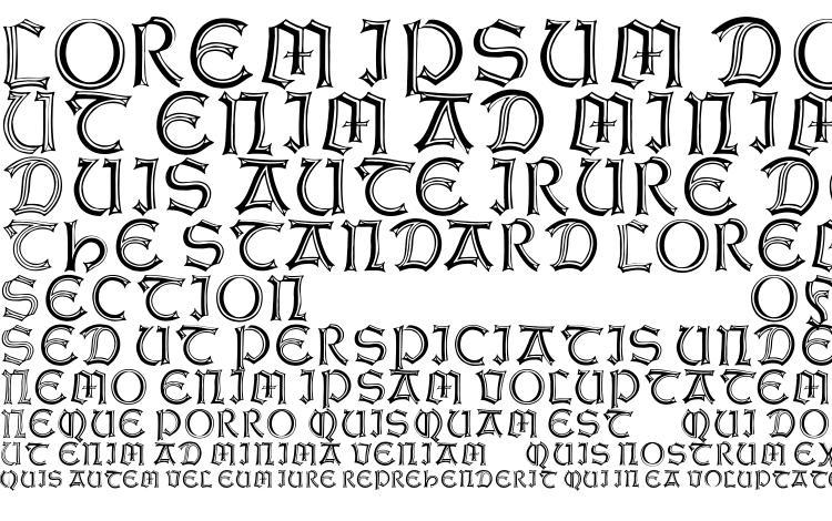 specimens WeissGotnitials font, sample WeissGotnitials font, an example of writing WeissGotnitials font, review WeissGotnitials font, preview WeissGotnitials font, WeissGotnitials font