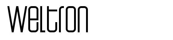 Weltron Font