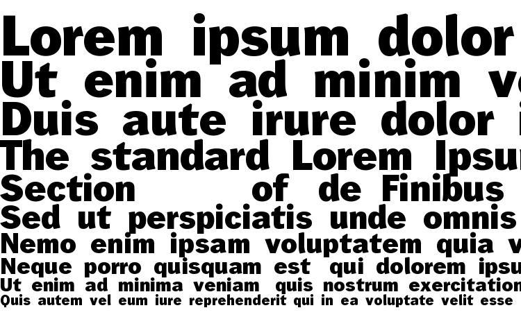 specimens Wendelin fett font, sample Wendelin fett font, an example of writing Wendelin fett font, review Wendelin fett font, preview Wendelin fett font, Wendelin fett font
