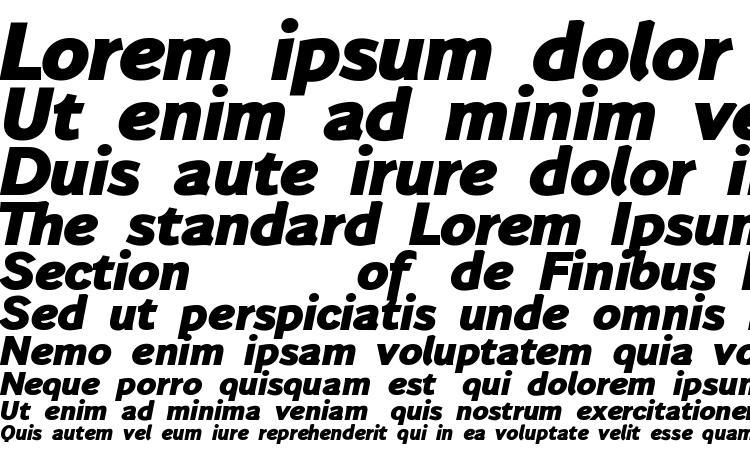 specimens Wendelinfettkursiv font, sample Wendelinfettkursiv font, an example of writing Wendelinfettkursiv font, review Wendelinfettkursiv font, preview Wendelinfettkursiv font, Wendelinfettkursiv font