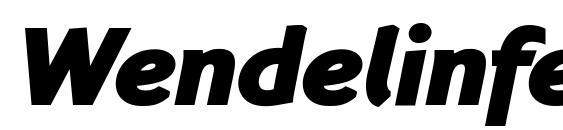 Wendelinfettkursiv Font