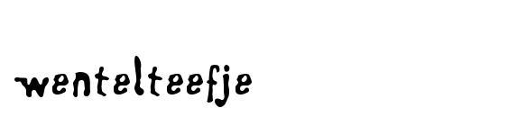 Wentelteefje Font