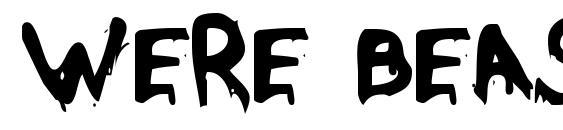 Were Beast Font