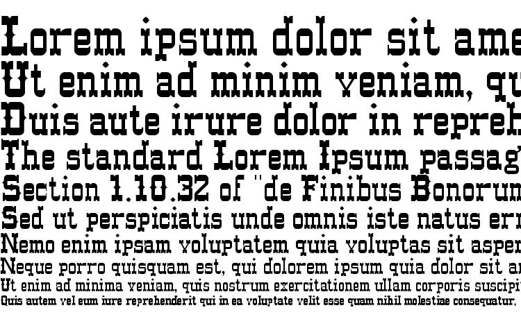 specimens Western normal font, sample Western normal font, an example of writing Western normal font, review Western normal font, preview Western normal font, Western normal font