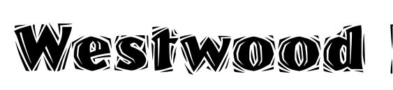 Westwood LET Plain.1.0 Font