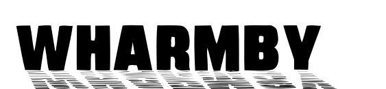 Wharmby Font, Retro Fonts