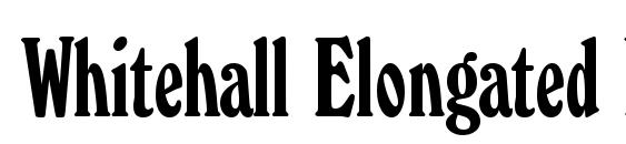 Whitehall Elongated Regular Font, Beautiful Fonts