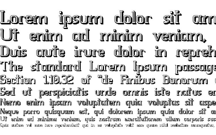 specimens Whitfv3d font, sample Whitfv3d font, an example of writing Whitfv3d font, review Whitfv3d font, preview Whitfv3d font, Whitfv3d font