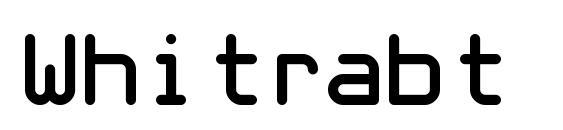 Whitrabt Font