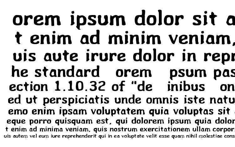 specimens Wibble font, sample Wibble font, an example of writing Wibble font, review Wibble font, preview Wibble font, Wibble font