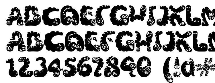 glyphs Wibbles (1) font, сharacters Wibbles (1) font, symbols Wibbles (1) font, character map Wibbles (1) font, preview Wibbles (1) font, abc Wibbles (1) font, Wibbles (1) font