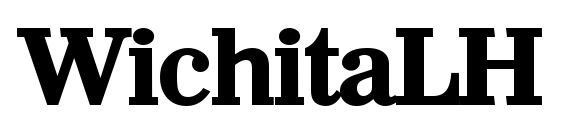 WichitaLH Bold font, free WichitaLH Bold font, preview WichitaLH Bold font