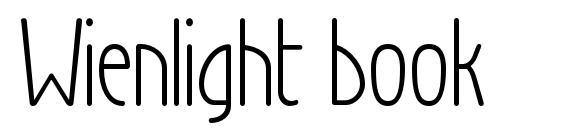 Wienlight book Font, Elegant Fonts