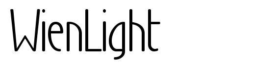 WienLight Font, Elegant Fonts