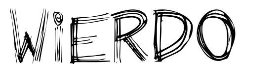 Wierdo Font