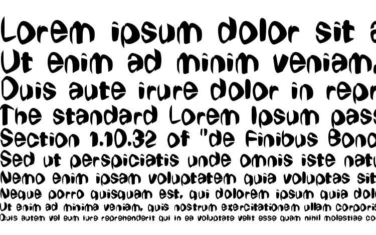specimens Wierdowp font, sample Wierdowp font, an example of writing Wierdowp font, review Wierdowp font, preview Wierdowp font, Wierdowp font