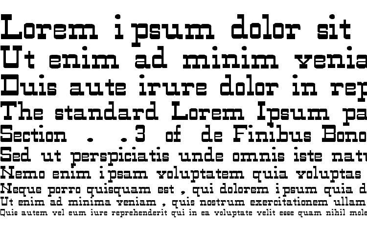 specimens WildWest Normal Wd font, sample WildWest Normal Wd font, an example of writing WildWest Normal Wd font, review WildWest Normal Wd font, preview WildWest Normal Wd font, WildWest Normal Wd font